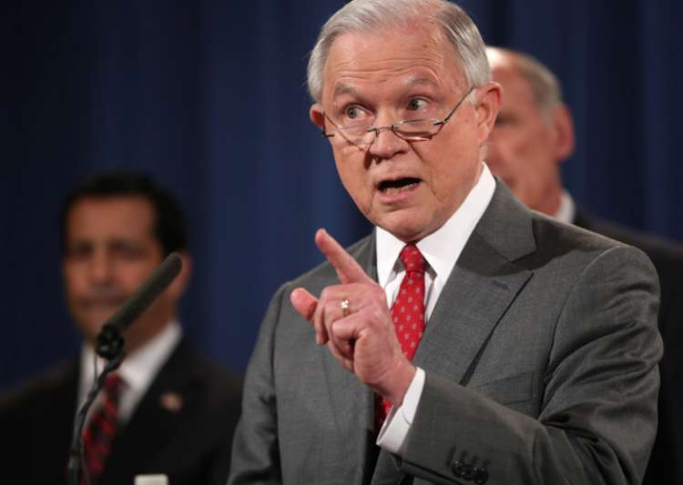 Jeff Sessions says administration won't allow extremist groups to