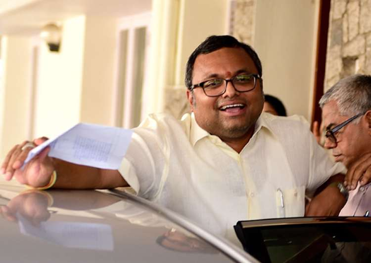 Madras HC stays look out notice issued against Karti Chidambaram