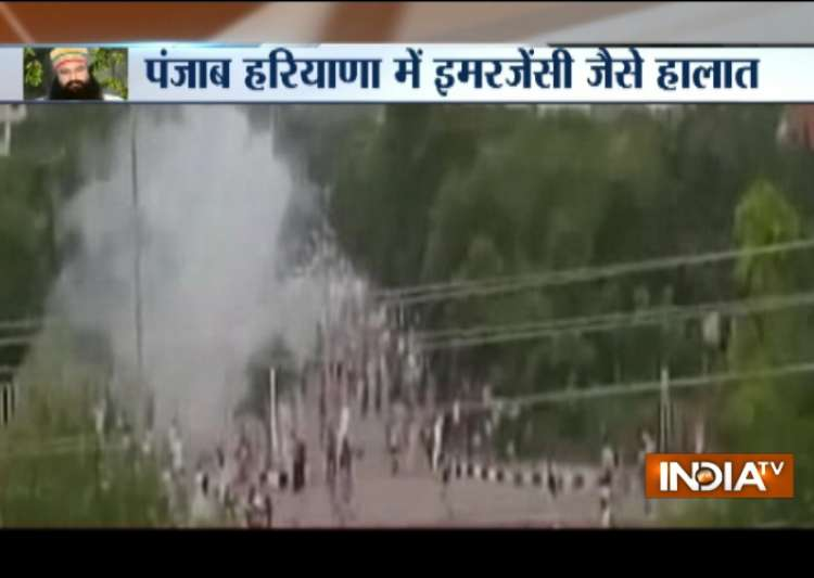 Protest erupts, mediapersons attacked after Dera chief convicted guilty in rape case