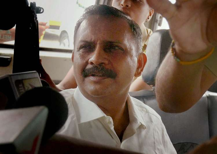 Malegaon blast accused Lt Col Prasad Shrikant Purohit released from Taloja Jail