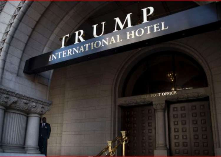 Trump's DC hotel is raking in cash