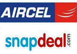 aircel snapdeal tie up for data enabled phones