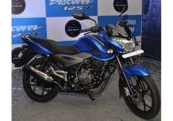 bajaj auto launches discover 125t for rs 54 022