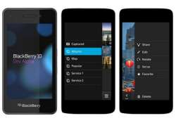 blackberry 10 os updated with new lock screen feature fm