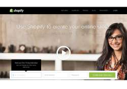 e commerce platform provider shopify enters india