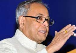 govt s options to deal with slowdown limited pranab