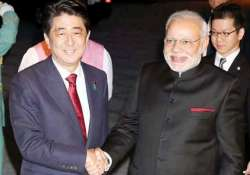 pm modi arrives in tokyo to hold summit talks with abe
