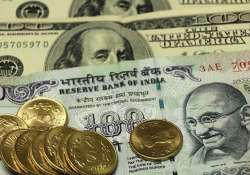 rupee edges up 11 paise against dollar