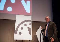 the doomsday clock is ticking again. it is now three