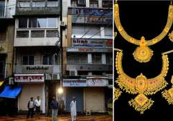 jewellers go on nationwide 3 day strike protesting customs
