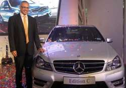 mercedes benz india launches edition c at rs. 39.16 lakh