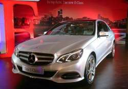 mercedes benz launches new e class sedan at rs 41.5 lakh