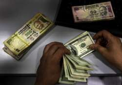 rupee likely to be in 54.50 55.30 range this week