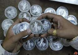 silver falls by rs 400 gold remains flat