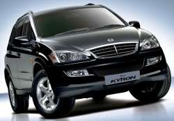ssangyong receives rs 400 cr from mahindra