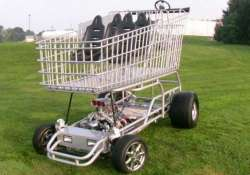 want to do some fast shopping try this 130 mph trolley