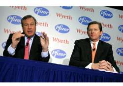 wyeth pfizer boards to merge india operations
