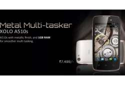 xolo a510s with 4 inch display and metallic finish listed