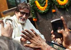 big b steps out to greet fans first time post surgery