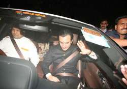 from bollywood biggies to politicians attend saif kareena s