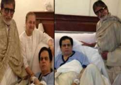 dilip saab stable now tweets big b after visiting hospital