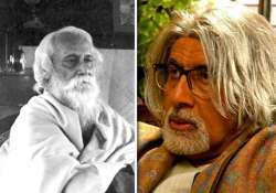 i would be honoured to play tagore amitabh