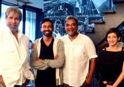 two days of shamitabh shooting left p.c sreeram