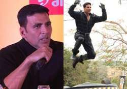 akshay kumar takes stand for stuntmen
