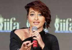 sonakshi sinha turns singer records her first song