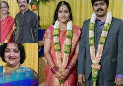 crazy mohan s son arjun s wedding pics view pics