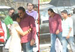 sanjay dutt spotted on the sets of policegiri view pics