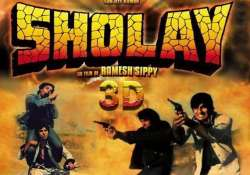 sholay 3d box office collection rs 6.30 cr in three days mr