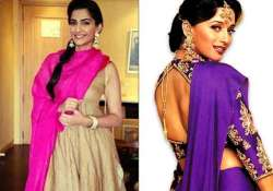 sonam kapoor wanted the purple outfit madhuri dixit wore in