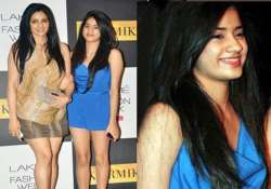 sridevi s daughter jhanvi gets ready for celluloid