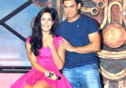 aamir katrina unveil dhoom machale song of dhoom 3 see pics
