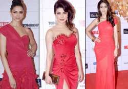 deepika priyanka ileana raise the glam quotient at hello