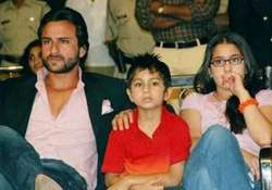 saif ali khan ignores kareena wants to spend time with his