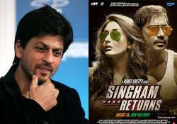 srk wishes singham returns team may you entertain us