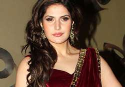 zarine khan on a look out for good work
