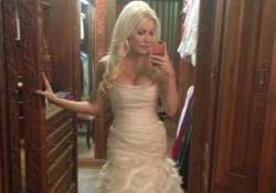 crystal harris wedding dress on auction