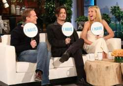 what depp paltrow and bettany have in common