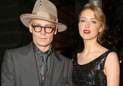 johnny depp amber heard s romance is in good place