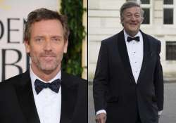 hugh laurie wishes stephen fry love and happiness on his