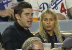 zac efron was all lovey dovey with miro on birthday