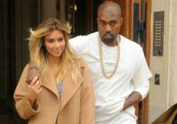 kanye west kim in paris without daughter