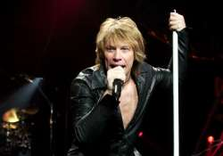 rock star bon jovi make whoopee 50th b day