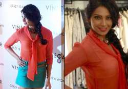 bipasha wears a transparent top at store lunch