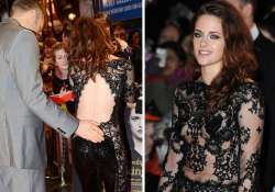 kristen stewart wore revealing outfit at twilight premiere