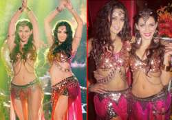 maryam zakaria and scarlett mellish sizzle in song for