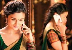 it s indian fusion look for alia in 2 states view pics